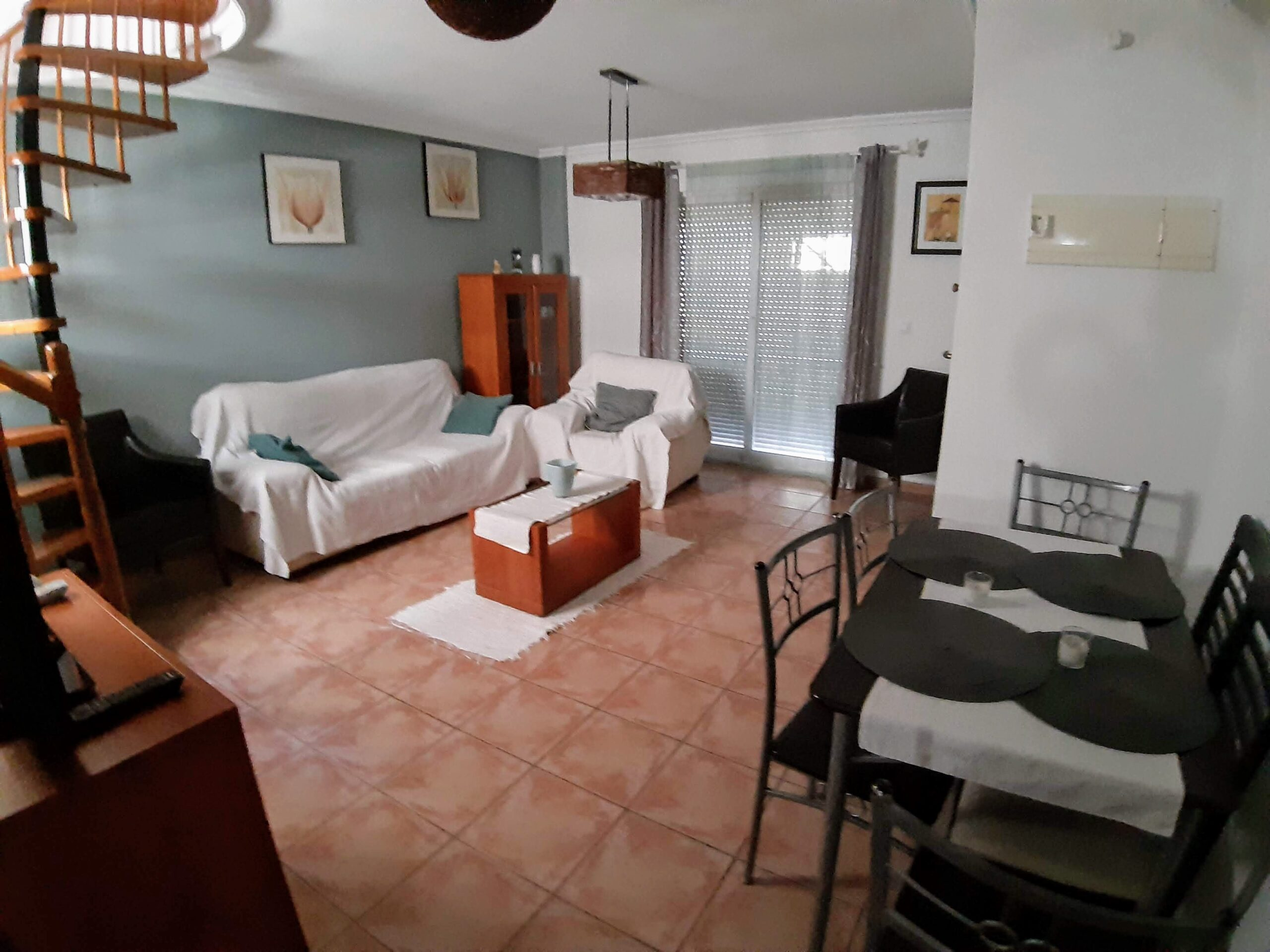 3 bedroom 2 bathroom 2nd line beach property for vacactions -Los Alacazares